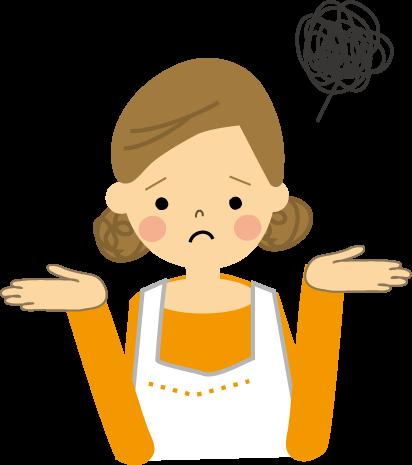 「料理 困った イラスト」の画像検索結果