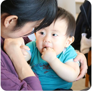 ママと赤ちゃんー重ね煮離乳食講座