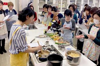 重ね煮アカデミー大阪教室